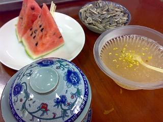 玉泉のお茶セット