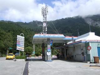 関原のガソリンスタンド