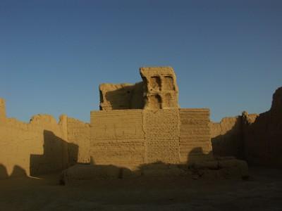 交河故城のお寺