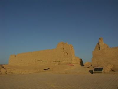 交河故城の寺院