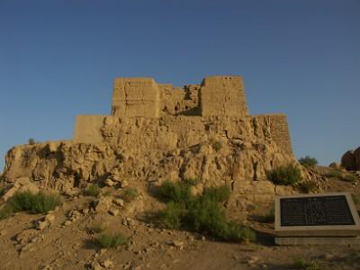 交河故城の建物