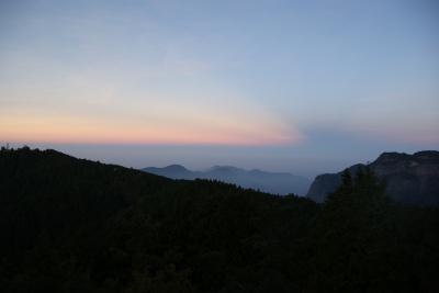 祝山展望台より2