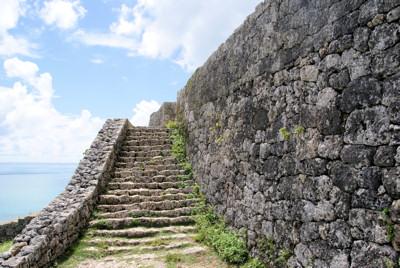 一の郭への階段