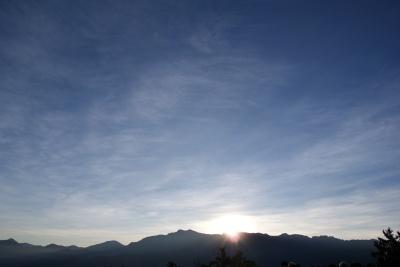 祝山展望台より8
