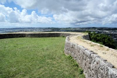 一の郭の石垣