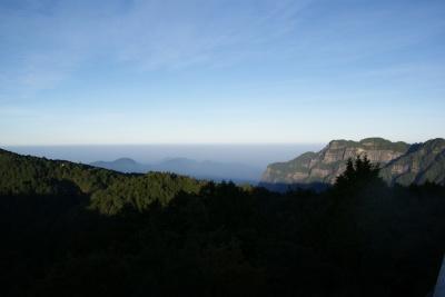 祝山展望台より11