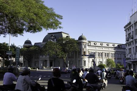 台湾文学館遠景