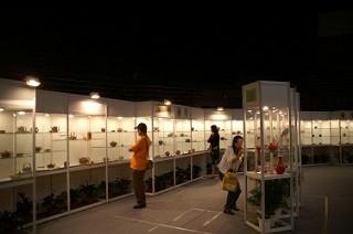 茶器の展示