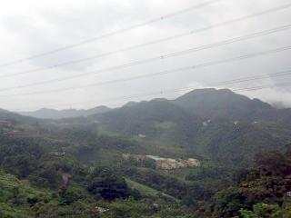 石碇郷の景色