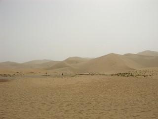 鳴沙山の風景