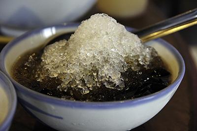 仙草かき氷