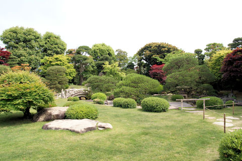 菊屋家住宅の庭