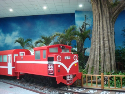 阿里山鉄道の模型