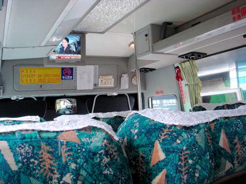 台中行きのバス
