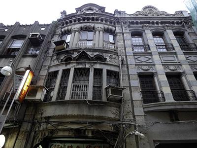 迪化街の建物