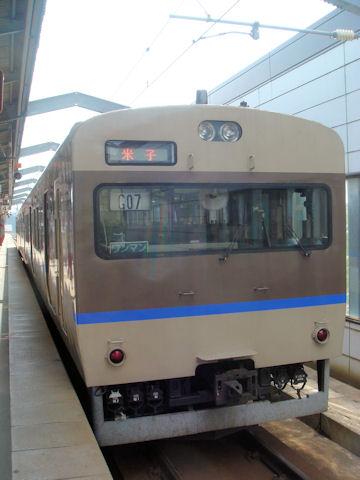 米子行きの普通列車