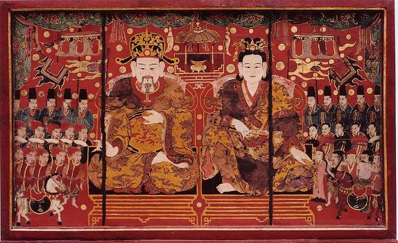 King Ly Nam De and the Queen.JPG