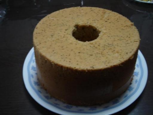20080504 紅茶のシフォンケーキ