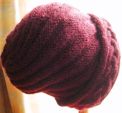 Cute snail hat01.JPG