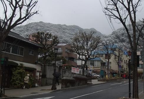北野雪景色