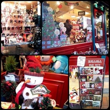 明洞、東大門、梨大のクリスマス