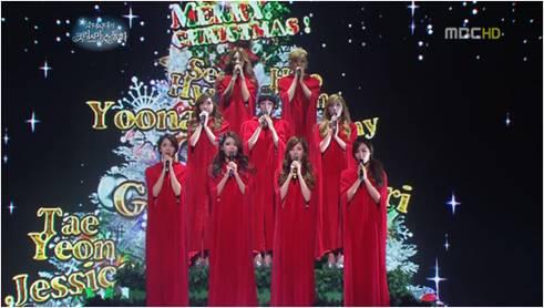 少女時代 クリスマス