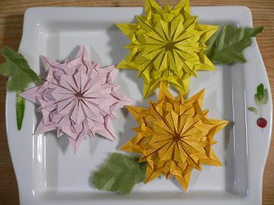 クリスマス 折り紙 折り紙 菊の花 : plaza.rakuten.co.jp