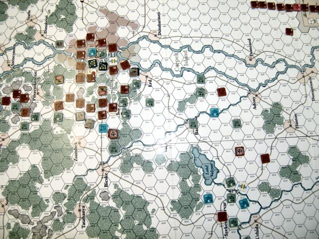 ゲーム終了時ブダペスト付近