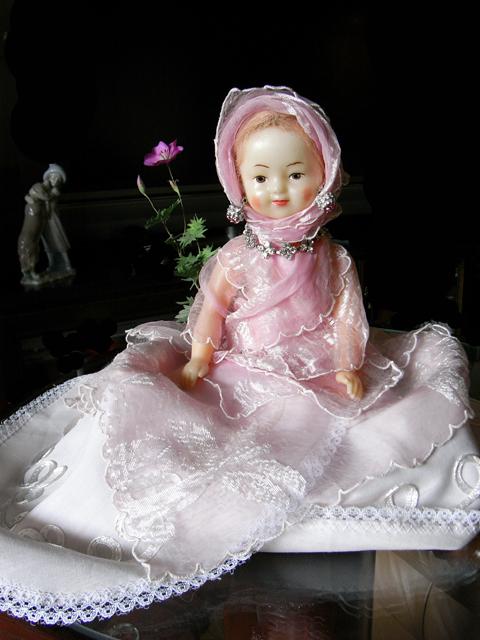 母の形見のお人形