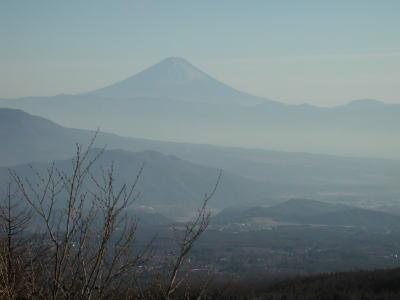天女山からの富士山1