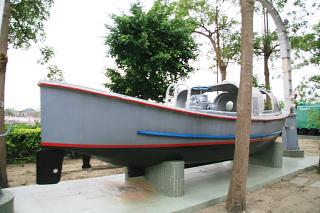 「昆陽」内火艇