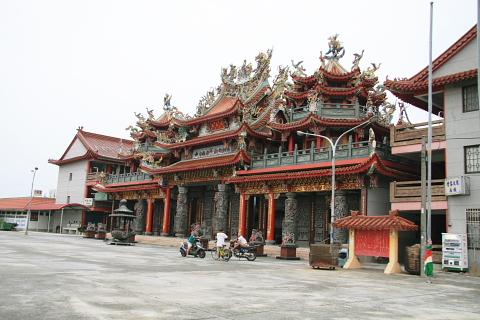 麻豆池王府軍史公園