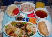 SQ機内食写真