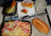 UA機内食写真