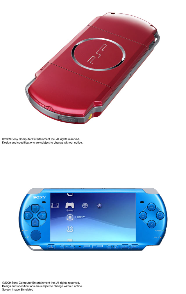 PSP-3000newcolor