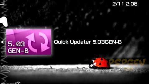 Quick Update 5.03GEN-B