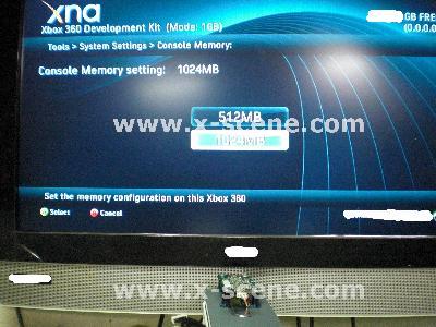 Xbox 360 Dev Kit with 1GB RAM_1