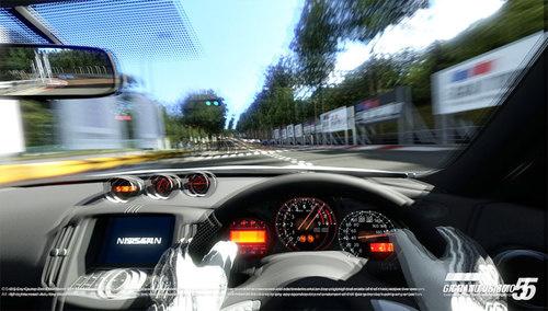Playing Gran Turismo 5 In 3D