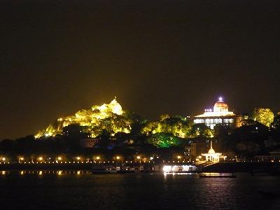 コロンス島の夜景