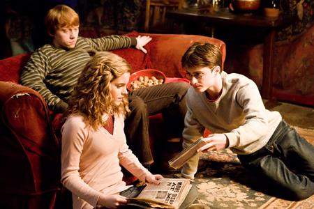 ハリーポッターと謎のプリンス トリオ