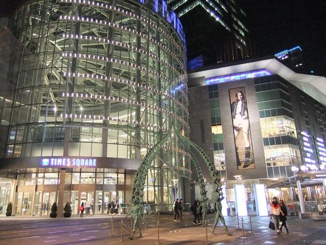コートヤード・バイ・マリオット・ソウル・タイムズスクエア これはソウルの新名所タイムズスクエア。