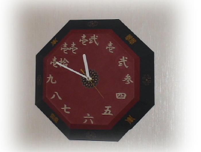 チャイナ風壁掛け時計3