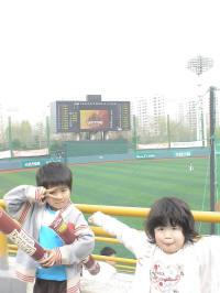 韓国プロ野球観戦デビュー
