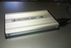 ハードディスクケース付ける
