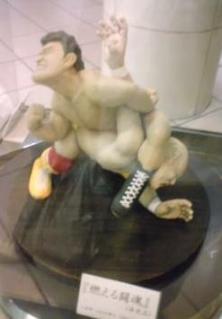 アントニオ猪木X博多人形