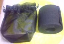 黒トイレットペーパー