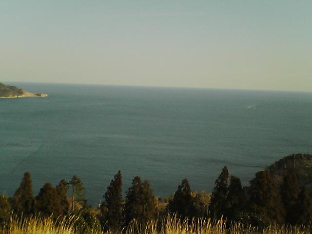 御番所公園から見た太平洋