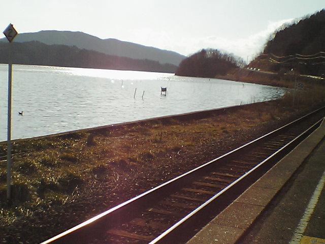 浦宿駅から見える海2