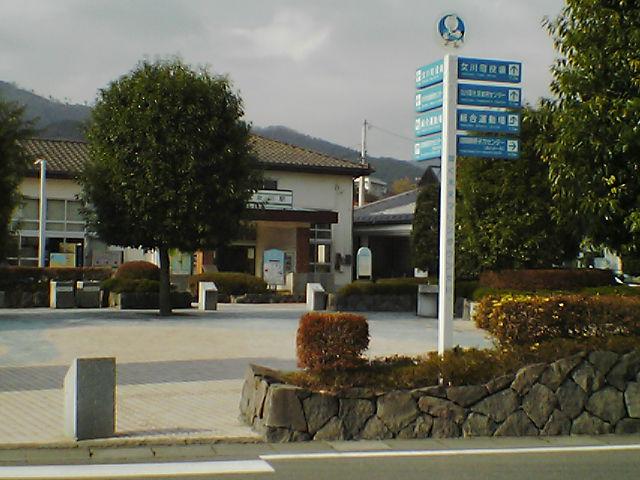 女川駅(遠めから)