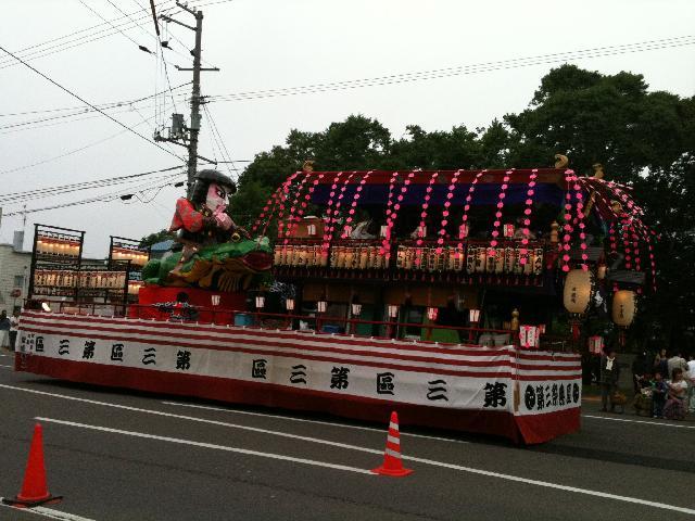 ねむろ例大祭山車